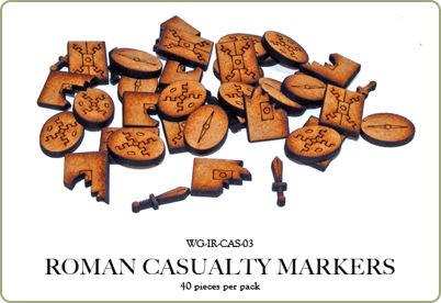 Hail Caesar Casualty Markers