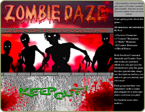 Zombie Daze box cover