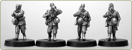 Heer 1936-45 Bare Headed Summer Infantry