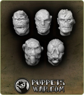 Plague Warrior Heads