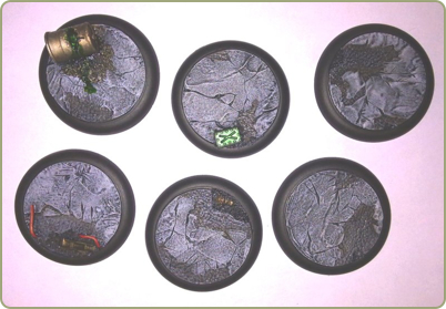 50mm Incursion bases