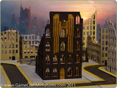 6mm Gothic style building