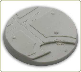 60mm Alien Temple Gaming Base