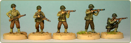 U.S. Riflemen Skirmishing