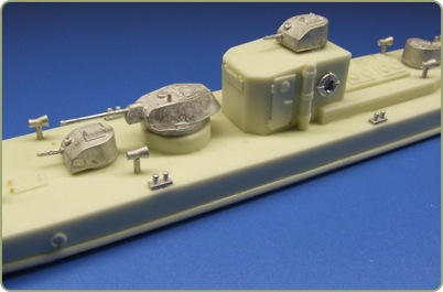 15mm Soviet Gunboat