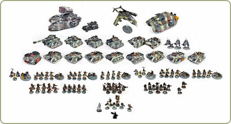 Imperial Guard army