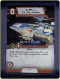 A-Wing card
