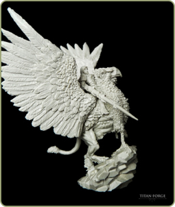 Griffon Lady of The Defenders of The Realm