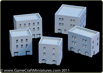 resin 1:285th Middle East buildings