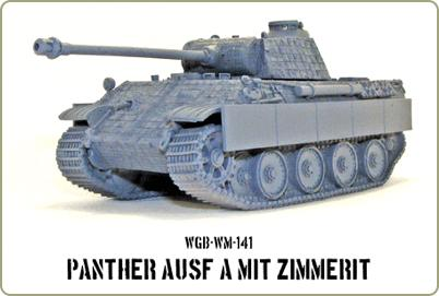 Panther in zimmerit