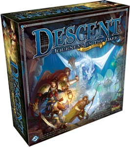Descent: Journeys in the Dark Second Edition box