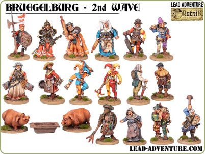 new Bruegelburg figures