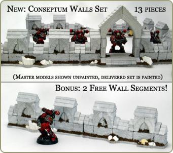 New walls and freebies