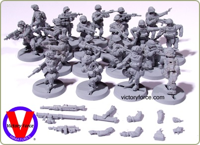 JC Figures Modern Marines