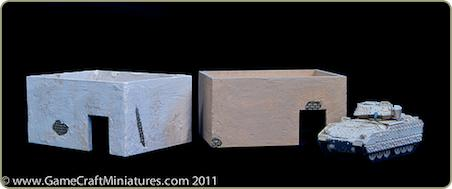 MDF structures