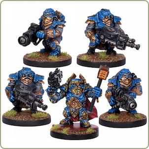 Painted Warpath Forge Fathers
