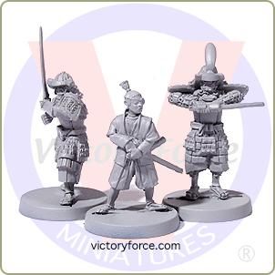 Samurai warrior heroes