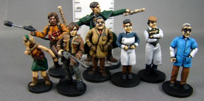 Recreational Conflict releases new 28mm Civilians - Tabletop Gaming