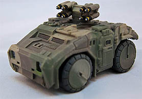 Khurasan Miniatures releases Armored Light Utility Vehicle