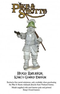 Warlord Games giving away free Pike Shotte mini