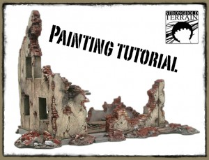 Stronghold Terrain ruined building painting tutorial