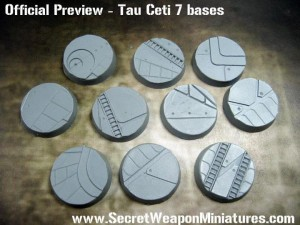 Secret Weapon Miniatures gives us another preview of their