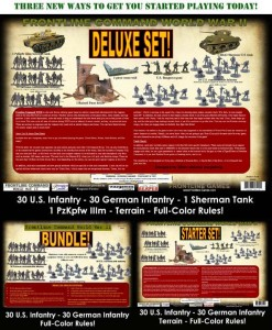 3 New WWII Battle Sets from Frontline Games - Tabletop