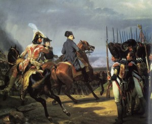 Napoleon and the Guard at Jena