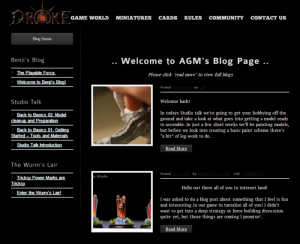 Drake Blog Launched