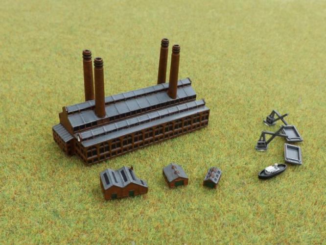 Brigade Models Power Station (13 pcs)
