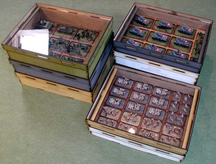Flames of war wargames figure storage 1