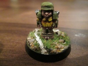 Halfling Fantasy Football Player