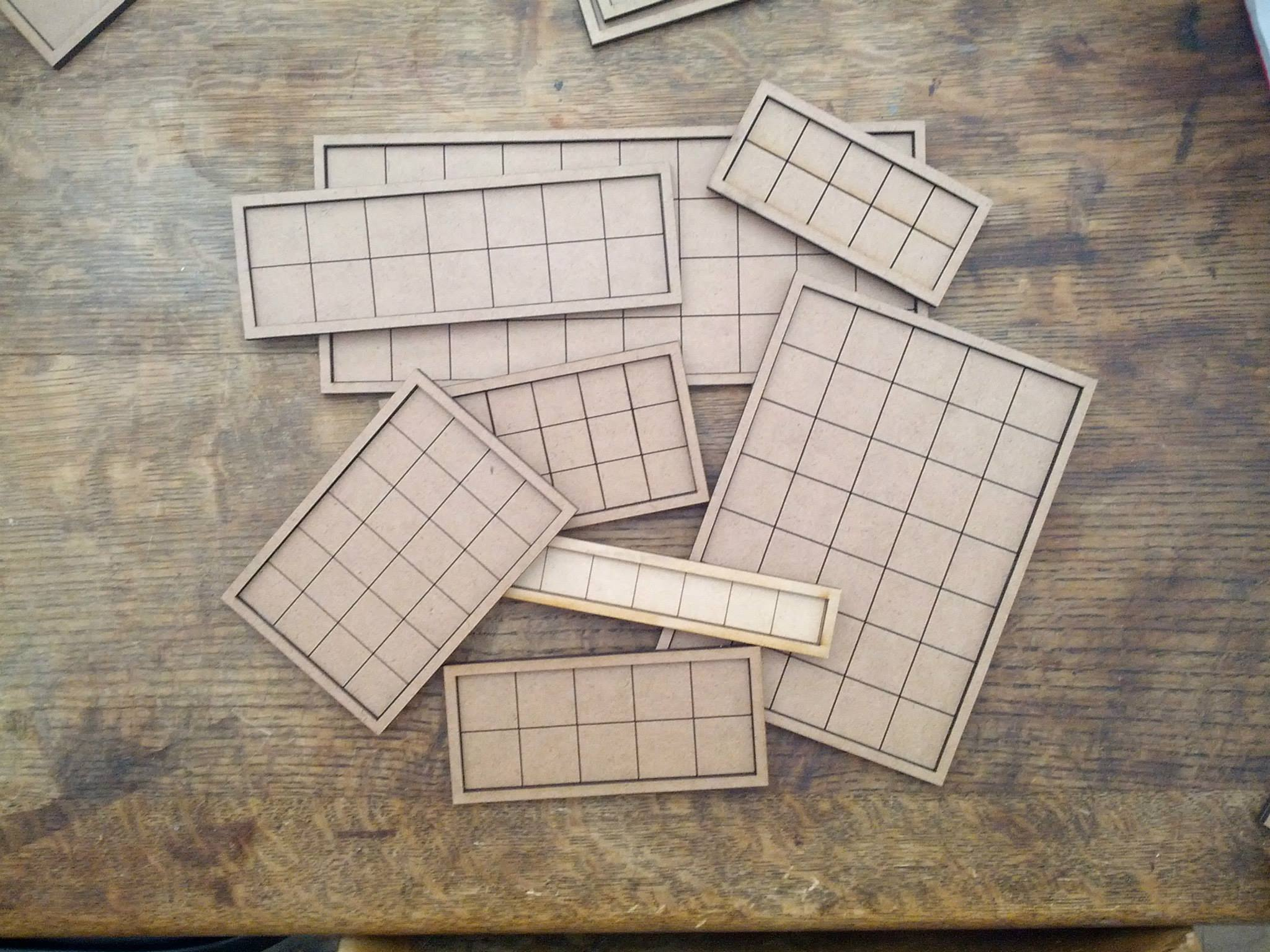 Infantry Movement Trays