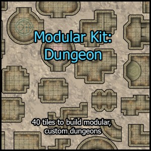 Modular Kit Dungeon
