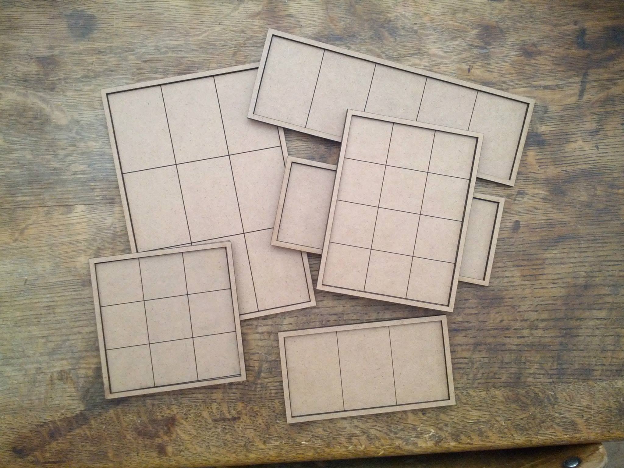 Monstrous Infantry & Cavalry Trays