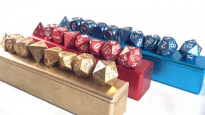 Precision Polyhedral Dice with Dice Vaults