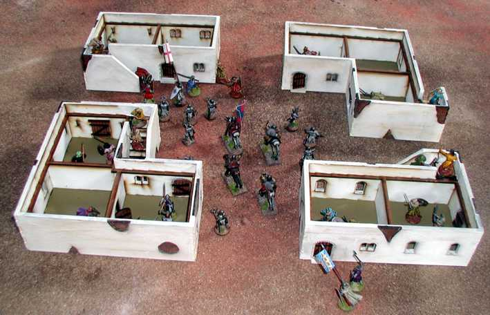 28mm middle east arab building G2