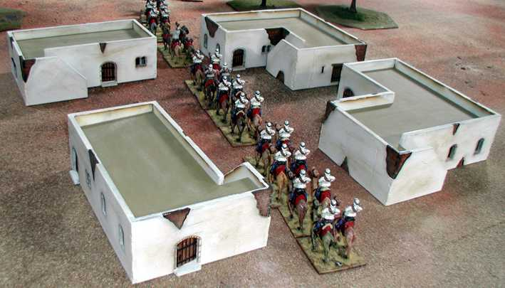 28mm middle east arab building G4