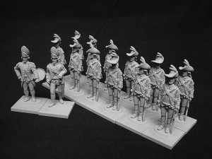 AWI British Grenadiers on Campaign