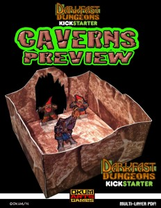 Caverns Preview