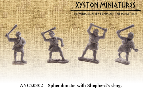 ANC20302 – Sphendonatai with Shepherd's slings