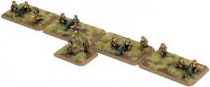 British Machine Gun Platoon