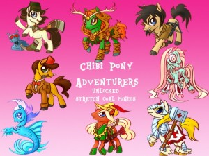 Chibi Pony Adventurers