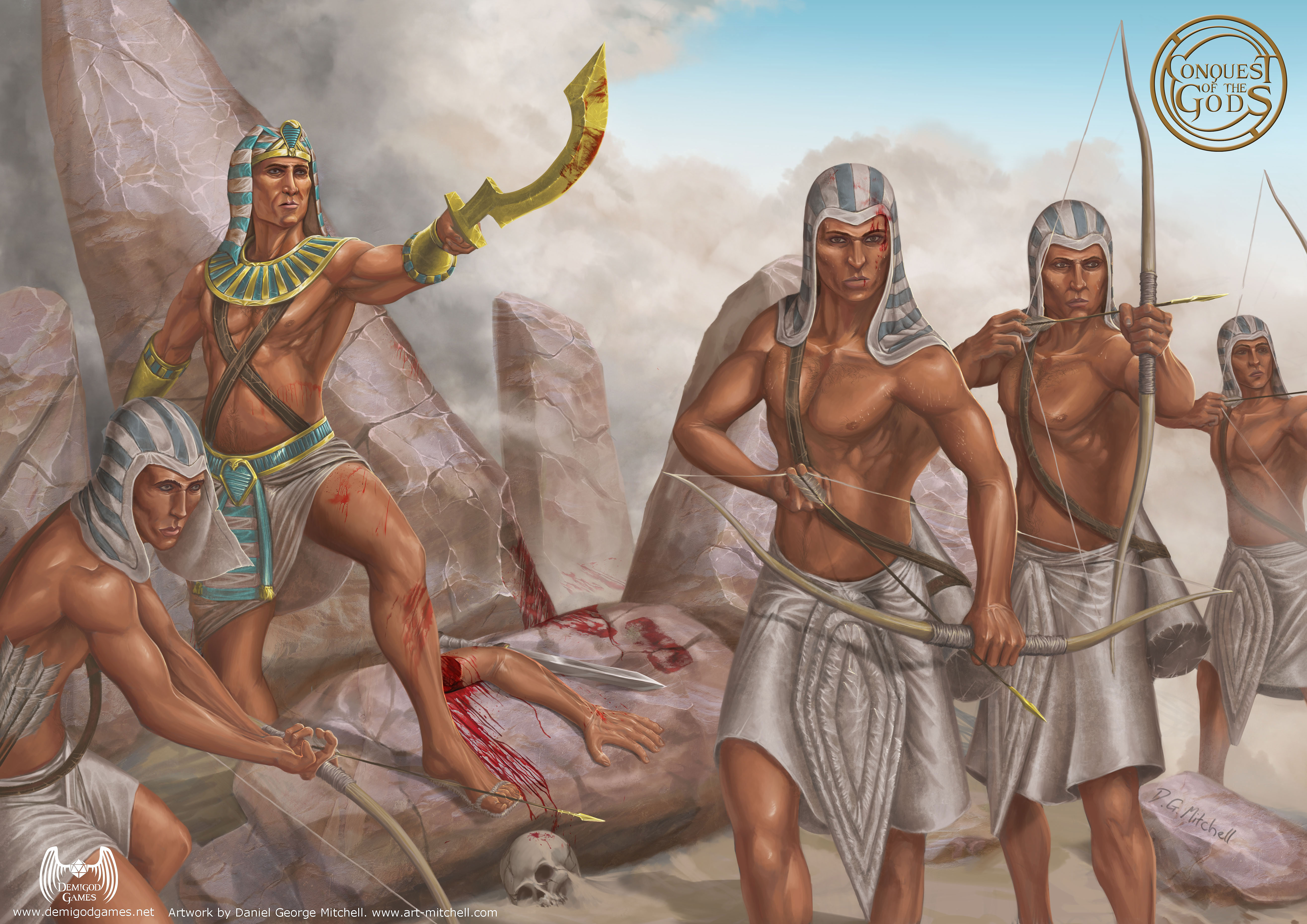 Egyptian-Archers