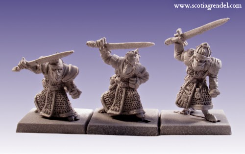GFR0037 - Stygian Orc with Hand Weapons I
