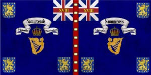 18th Regimental flag