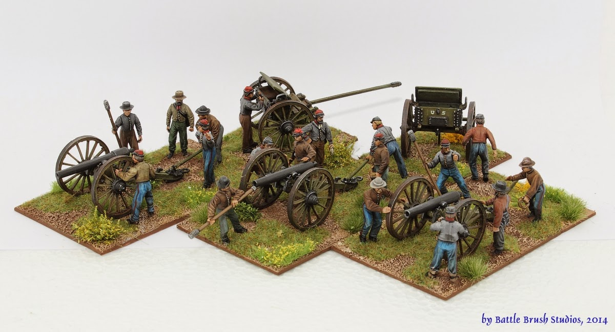 ACW Artillery pieces