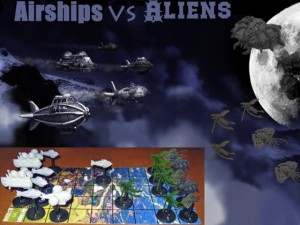Airships vs Aliens