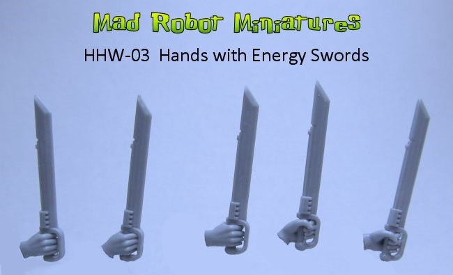 Energy Swords