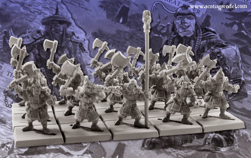 GFRA2014 - Half-Orcs Regiment Pack
